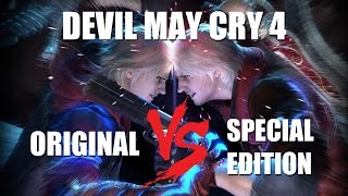 Devil May Cry 4 - original VS special edition [graphics comparison]