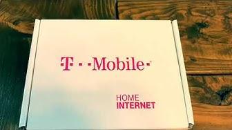 T-Mobile Home Internet Unboxing & Setup
