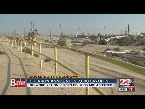 CHEVRON TO LAY OFF 7000 PEOPLE.