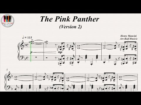 The Pink Panther (Theme 2), Piano
