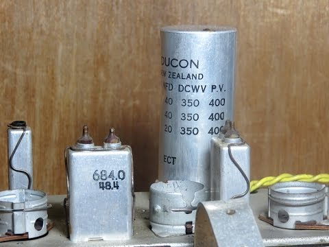 100 V Motor Wiring Diagram Old Electrolytic Can Capacitors A Major Cause Of Hum
