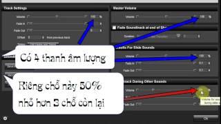 Sửa lỗi âm thanh to nhỏ không đều trong Proshow Producer