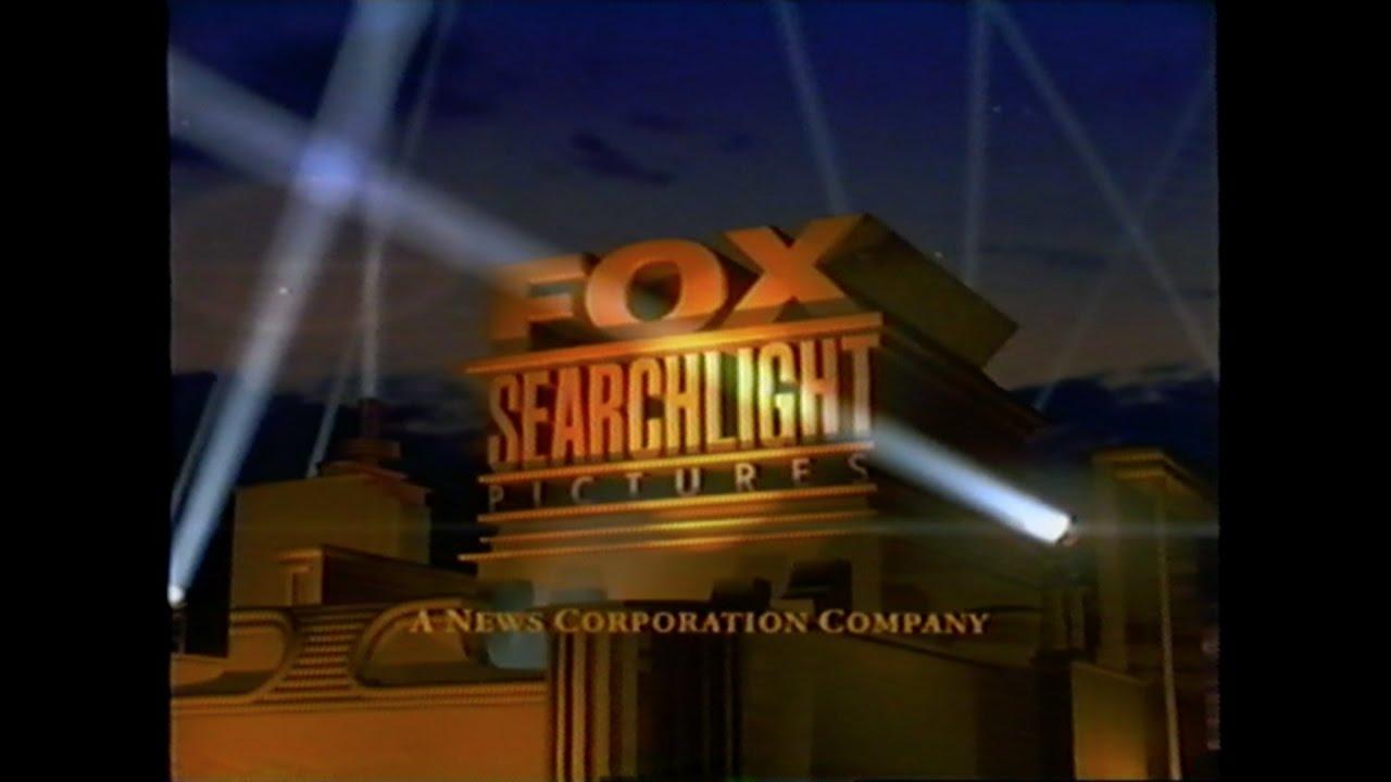 fox searchlight productions logo vhs 1997 youtube