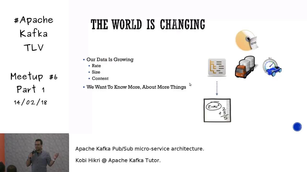 Apache Kafka Pub/Sub Micro-Service Architecture (Eng)