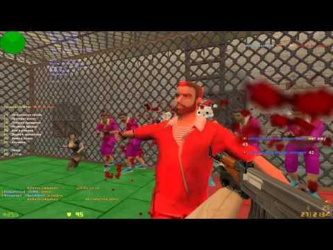 Jailbreak в кс 1.6. Лучший jail сервер. Игру проводит Муравей