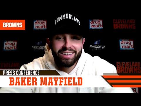 Baker Mayfield Postgame Press Conference vs. Texans | Cleveland Browns