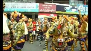 Tiger Dance,Pulikali Trichur