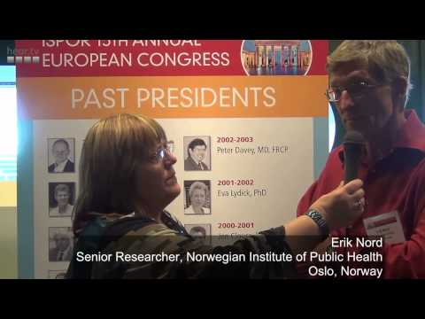Erik Nord on the fairness in distributing health care resources (ISPOR Berlin 2012)