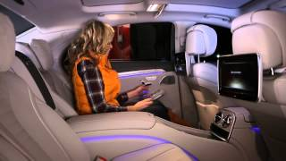 NEW Mercedes BENZ S Class W222 Тест драйв в программе 'Москва рулит'
