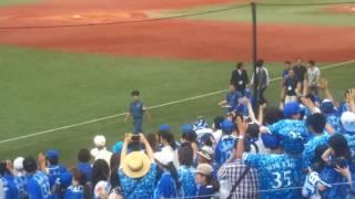 神宮球場にいってまいりました。横浜ファンが取っても多くてビックリし...