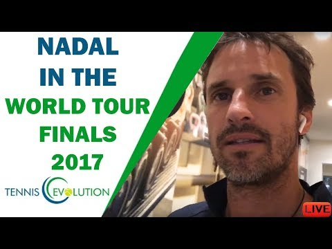 Nadal in the World Tour Finals 2017