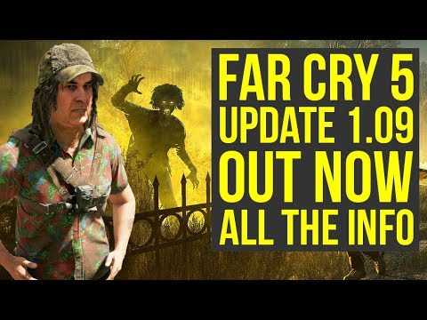 Far Cry 5 Update 1.09 OUT NOW - Adds DLC Content & More! (Far Cry 5 DLC) thumbnail