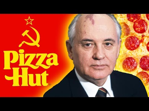 How a Soviet Leader Made a Pizza Hut Commercial