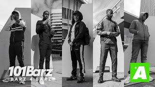 Bryan Mg, Demarre, Jack, Ashafar & Mensa (Prod. EZRA) | Barz 4 Barz - Appelsap Special | 101Barz