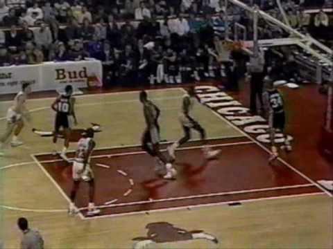 Michael Jordan 1989-90: Vs. San Antonio Spurs.