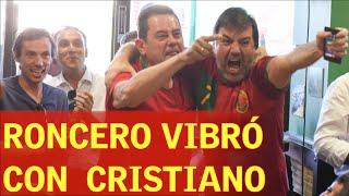 HUNGRÍA 3-3 PORTUGAL | Roncero enloqueció con Cristiano
