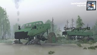 Spintires Modded Mp 6 Door Ford F 350 Mega Truck Swamp Mudding Everglades