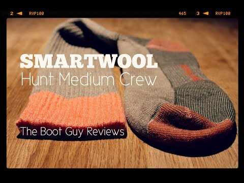 SMARTWOOL Hunt Medium Crew Socks [ The Boot Guy Reviews ]
