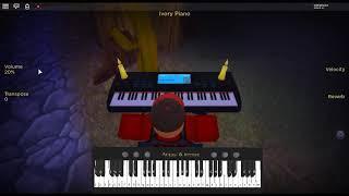 Resonance - Odyssey de: HOME sur un piano ROBLOX.