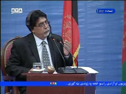 Afghan Presidential Debate By Radio Azadi and RTA Part 1
