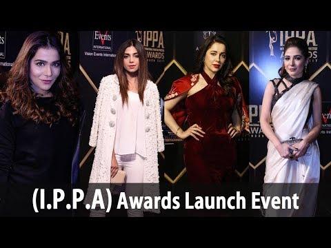 Pakistani Celebrities at I P P A International Pakistan Prestige Awards launch event-Adeez TV HD-