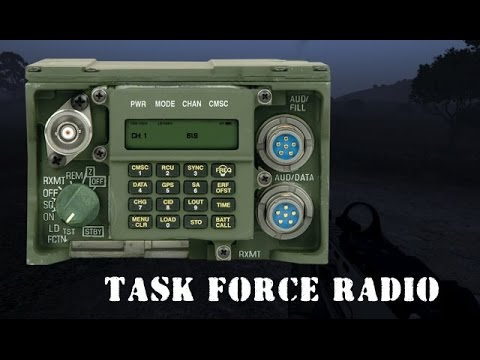 how to set task force radio to teamspeak server