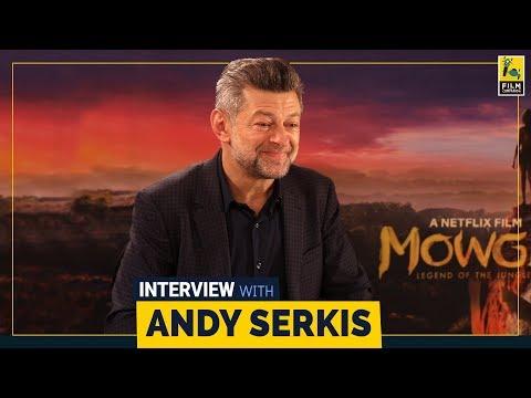 Andy Serkis Interview With Sneha Menon Desai   Mowgli   Netflix