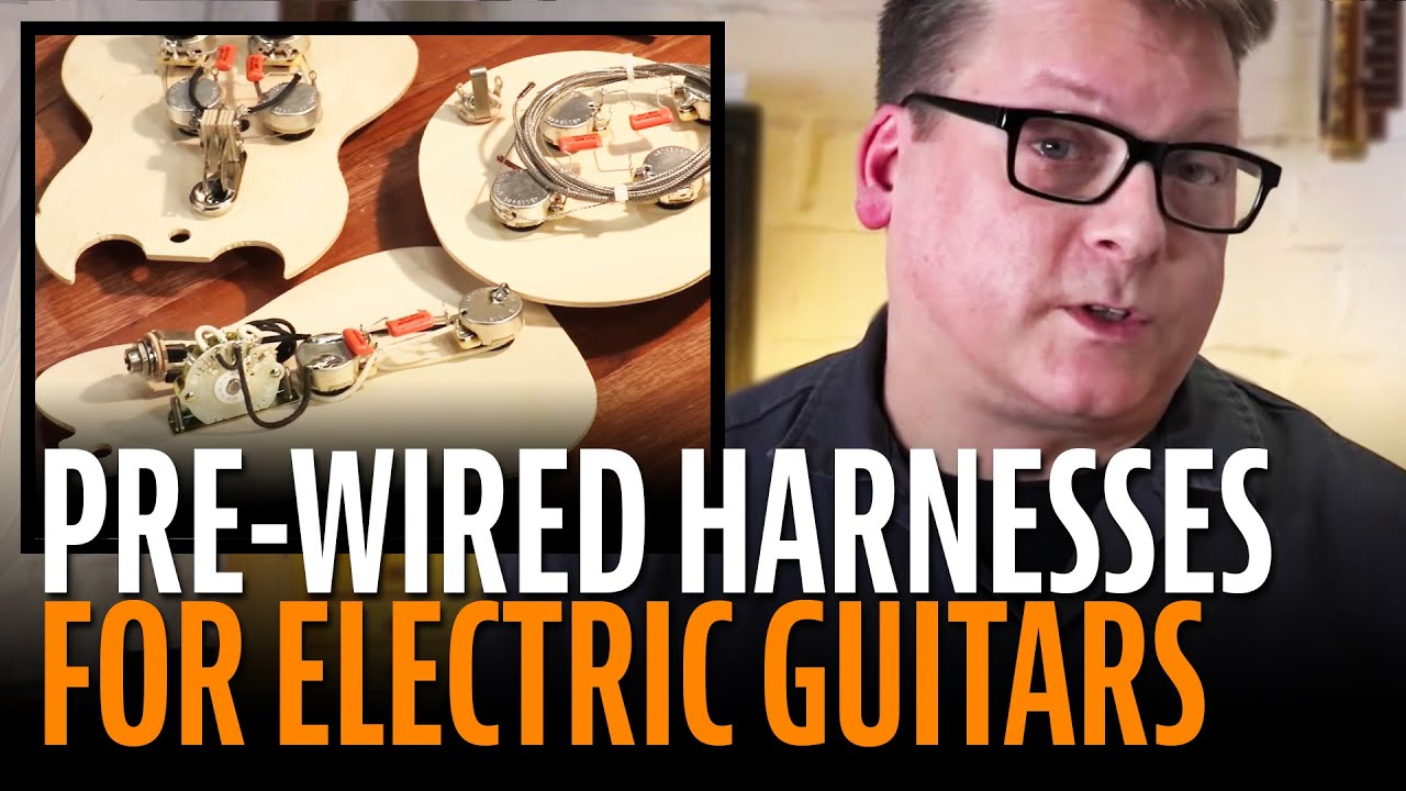 golden age pre wired harnesses premium hand soldered pickup for electric guitars [ 1280 x 720 Pixel ]