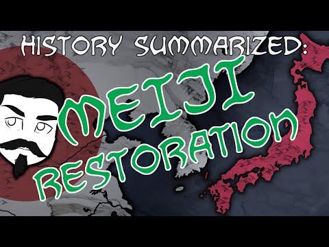 History Summarized: The Meiji Restoration