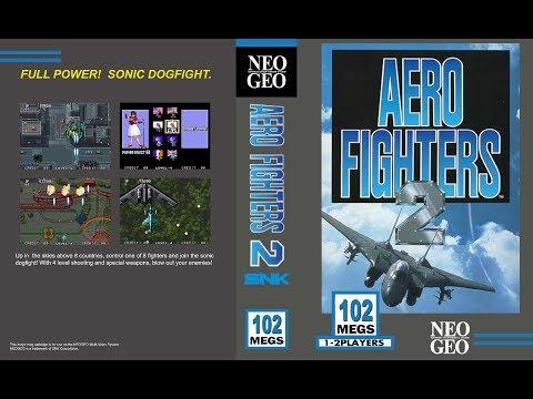 NEO·GEO - AERO FIGHTERS 2 / SONIC WINGS 2 Walkthrough