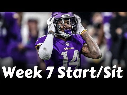 Fantasy Football 2019 Week 7 Start 'em Sit 'em (TIMESTAMPS)