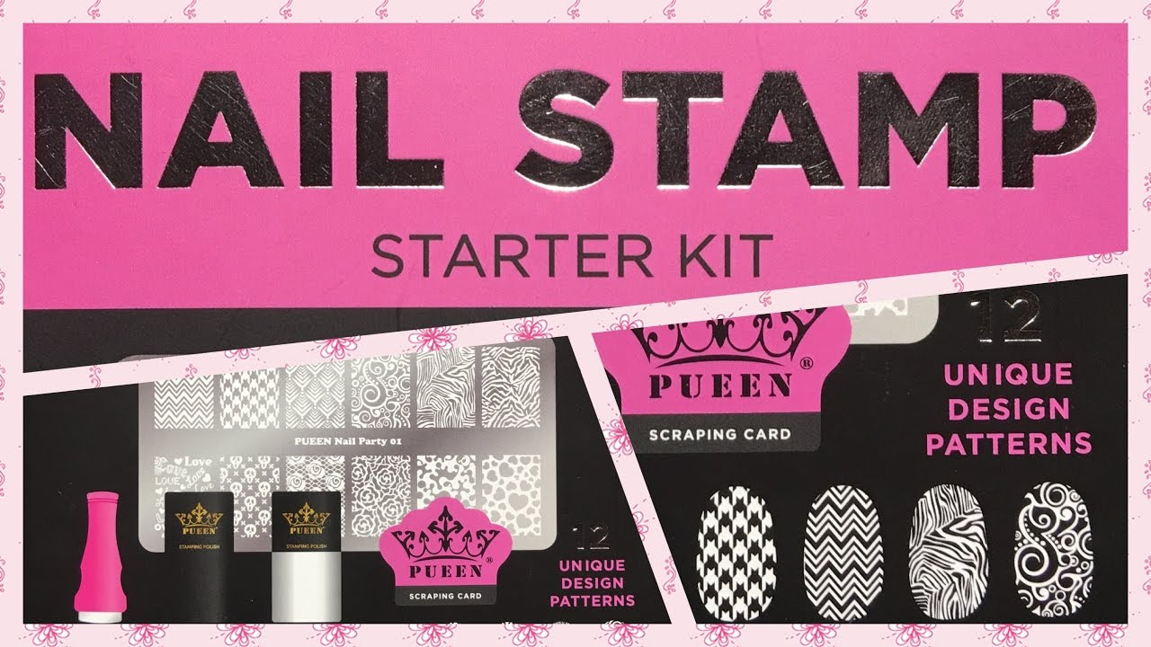 PUEEN NAIL STAMP KIT REVIEW |Readily Available @ Walmart| - YouTube