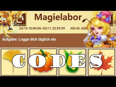 Magielabor 🧙♂️ CODES Für Euch! F2P Belohnungen!   Castle Clash   Schloss Konflikt