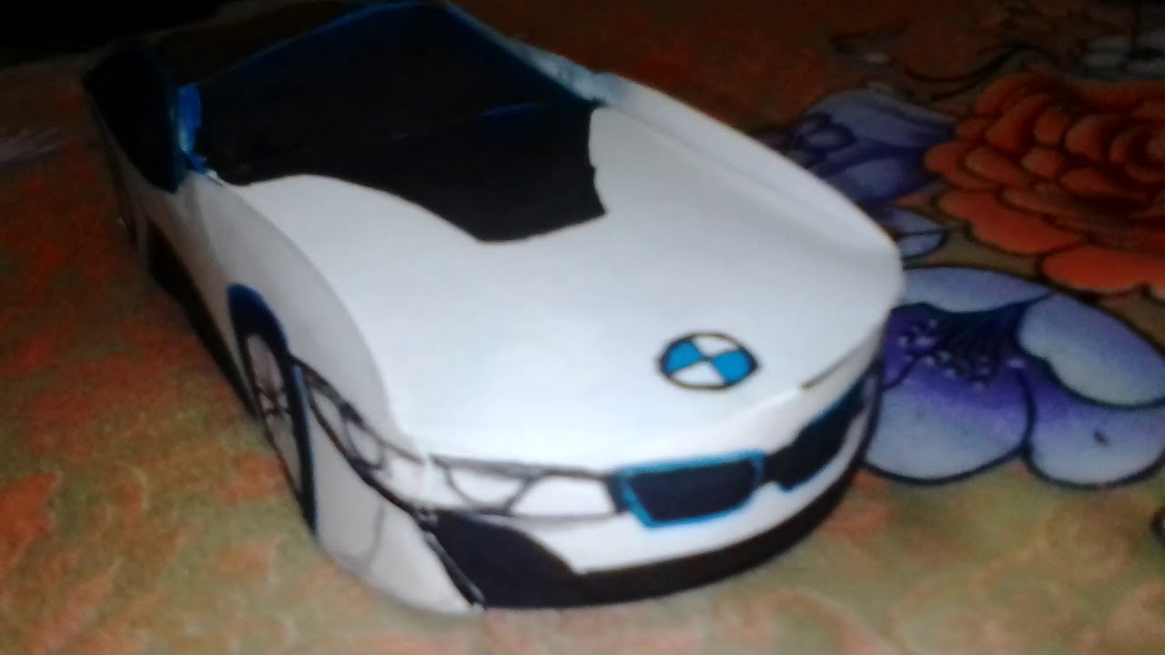 How An Bmw I8 Paper Car Look Youtube