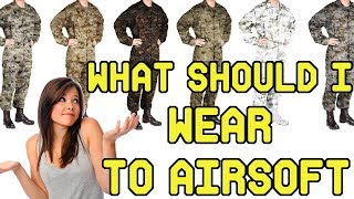 What Should I Wear to my First Airsoft Game?