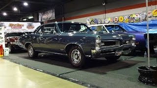 1966 Pontiac GTO in Charcoal Blue Paint & 389 Engine Sound on My Car Story with Lou Costabile