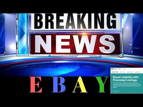 HUGE EBAY BREAKING NEWS. Image Searches & Promoted Listings