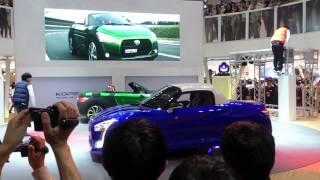 2013年11月23日 東京モーターショー一般公開初日 ダイハツブースにてな...