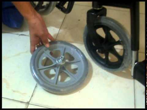 Disalud repuestos para sillas de ruedas youtube for Repuestos sillas de oficina