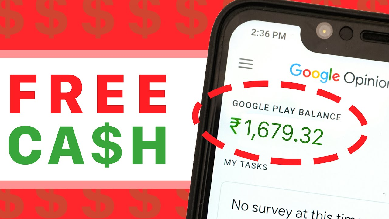free google play account with money