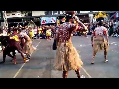Etnis Papua - Indonesian Internasional Culture Festival - UKSW, Salatiga