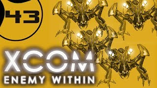 Let's Play XCOM Enemy Within Ironman Impossible - Part 43 - 4 Sectopod TERROR
