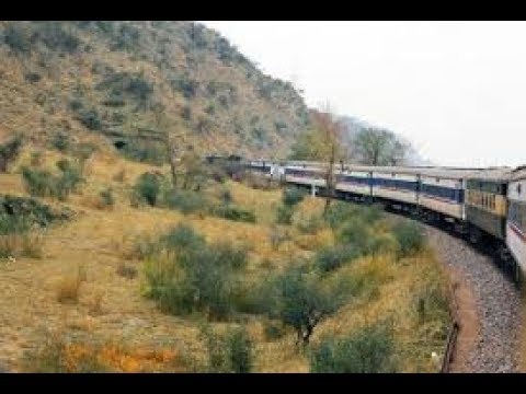 islamabad to lahore train nice outside view