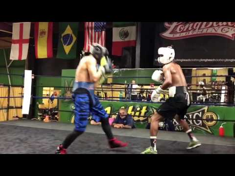 Top amateur boxers sparring NO JOKE SKILLS - EsNews boxing