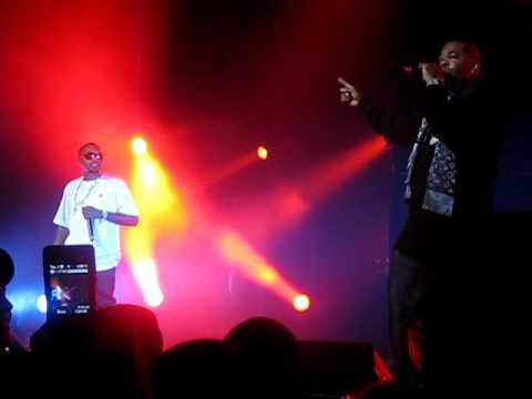 """Nas Live at the Hammerstein Dec 26 """"fried chicken"""""""
