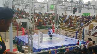 Shebaz Hussain (RED) V/s Hamdan (BLUE).