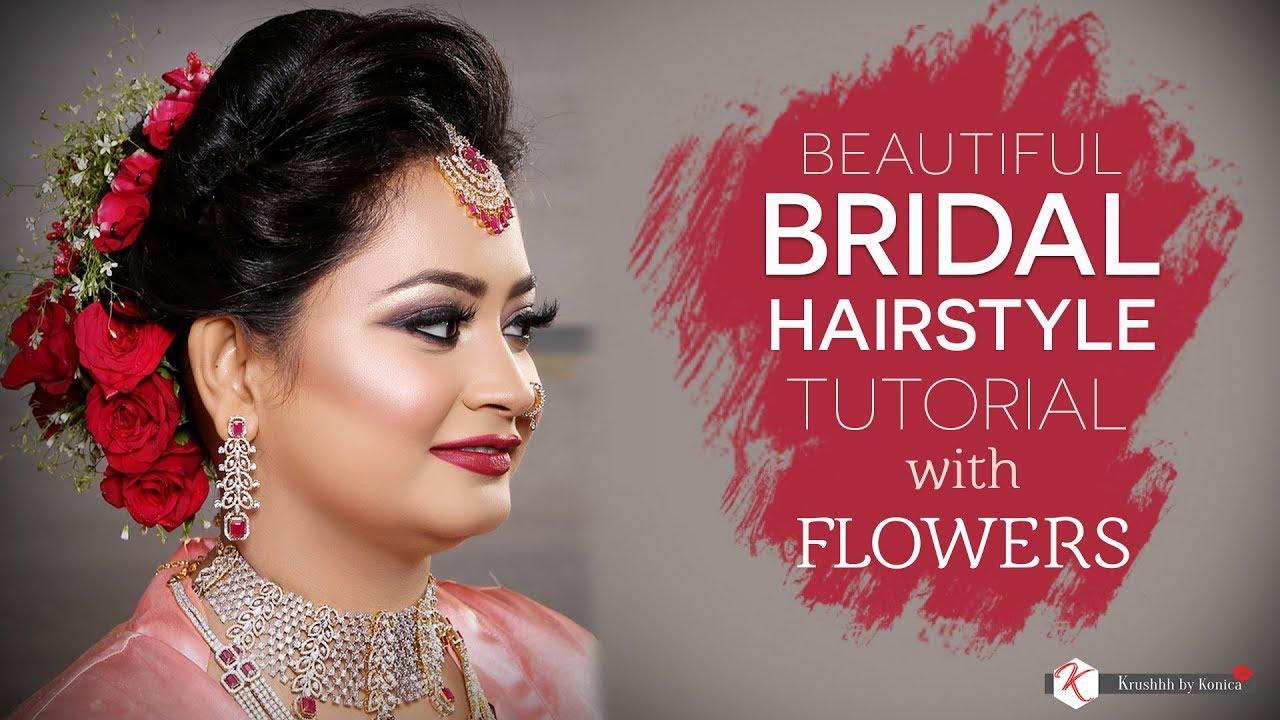 beautiful bridal hairstyle bun