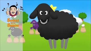 Baa Baa Black Sheep | Nursery Rhymes and Songs for Kids by Songs with Simon