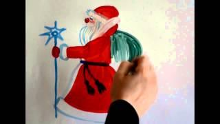 Наталья Дмитриева программа-изо.рф 40 видео-уроков для детей Дед Мороз