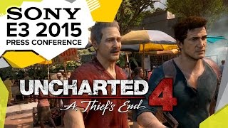 Uncharted 4 Gameplay Demo - E3 2015 Sony Press Conference